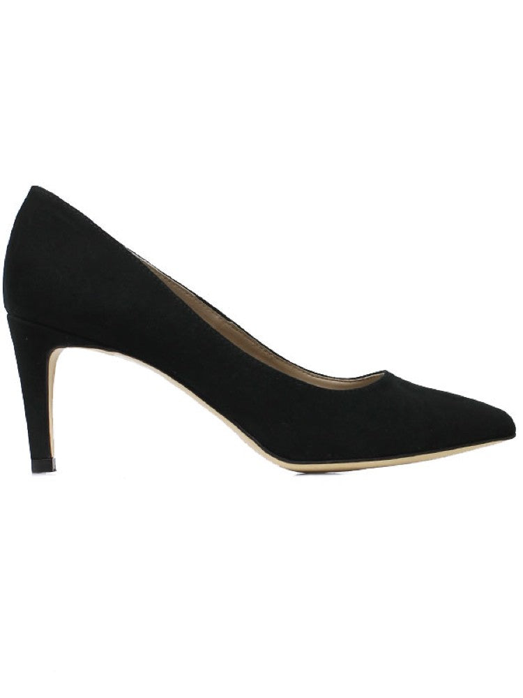 Will's Vegan Smart Courts Black Faux Suede