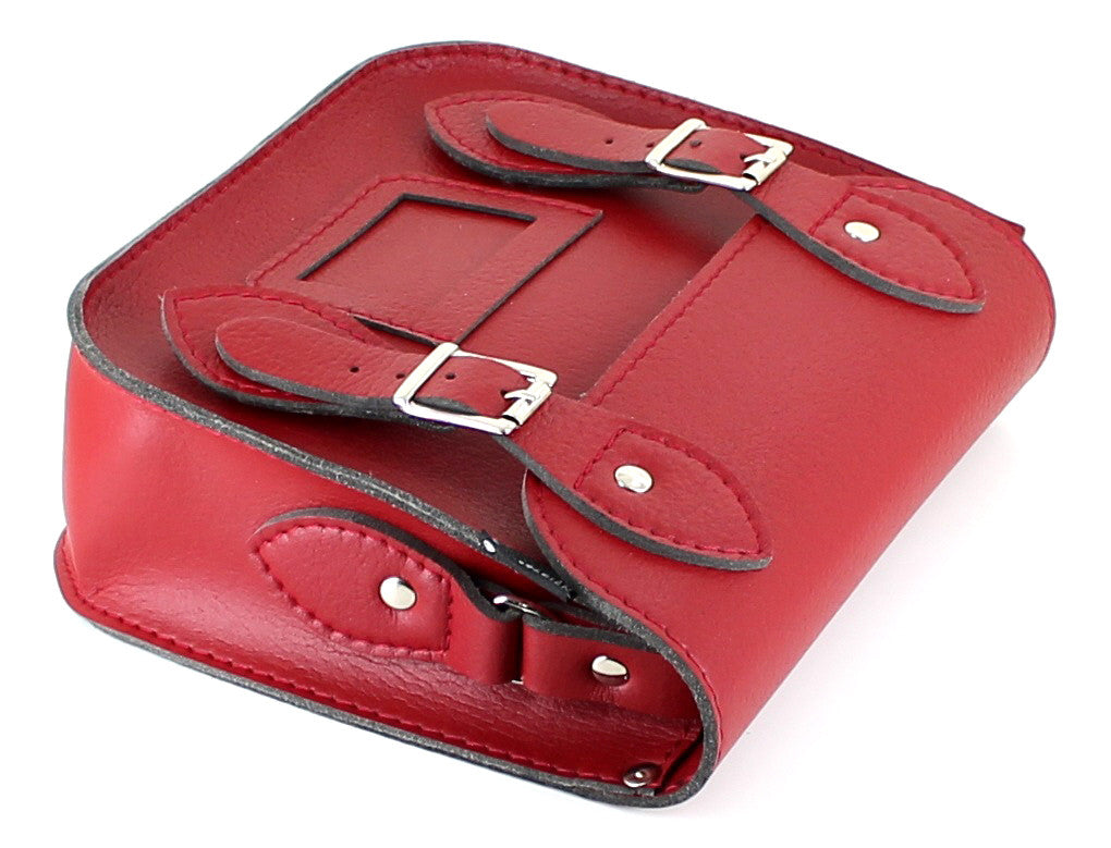 vegan cruelty free bag handbag Vegetarian Shoes mini satchel red Australia
