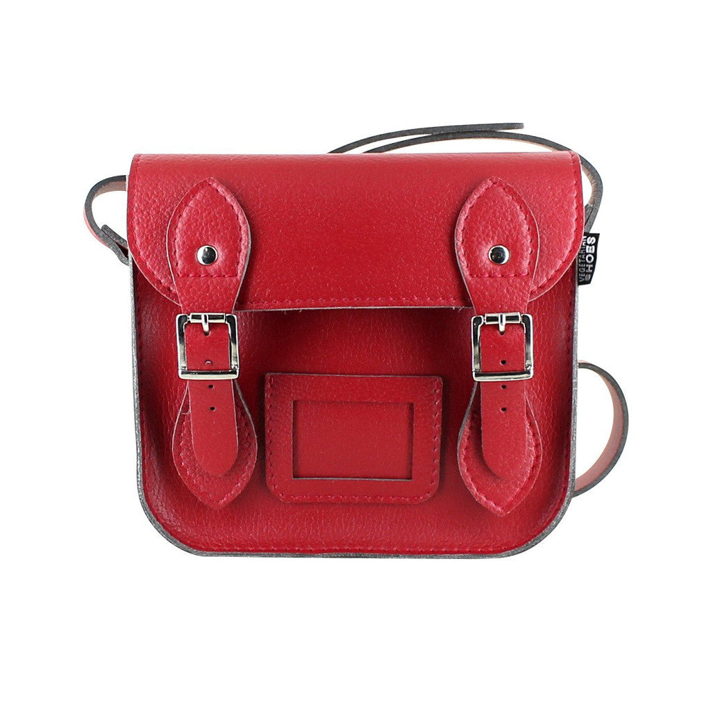 Vegetarian Shoes Vegan Mini Satchel Red