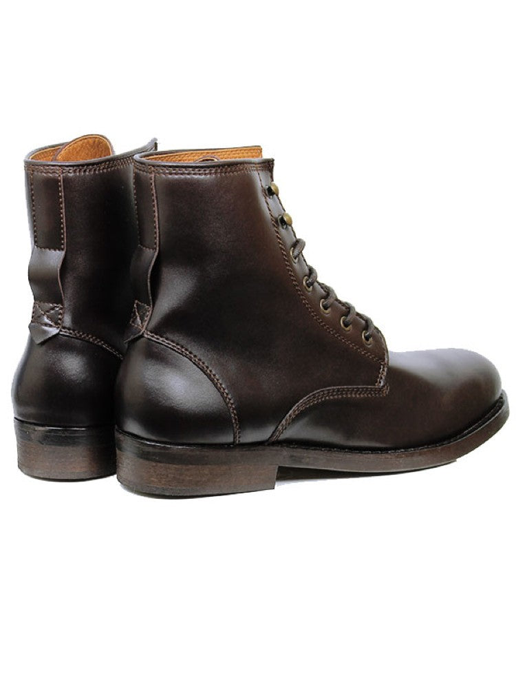 Will's Vegan Strider Boots Dark Brown