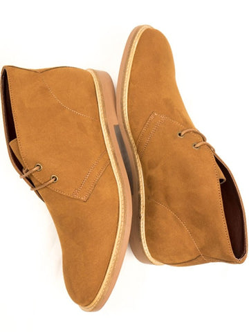 Will's Vegan Signature Desert Boots Tan