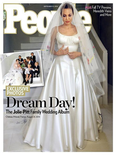 How To DIY Your Wedding Dress (Like Angelina Jolie)