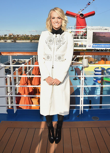 "Carrie Underwood is ""ALL-A-BOARD"" with SOLEMATES, The US Military and Carnival Cruise Lines' Newest"