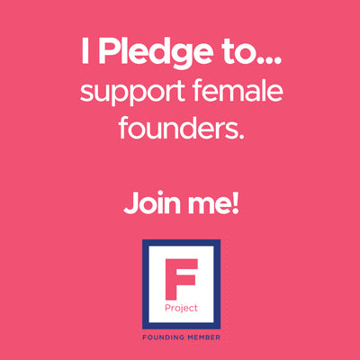 Why We Have Joined The F Project, to Support Female Founders