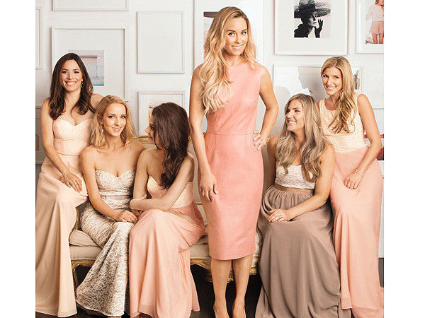 Lauren Conrad Launches Bridesmaid Dress Line!