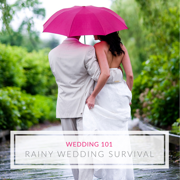 Rainy Day Wedding: Tips & Tricks