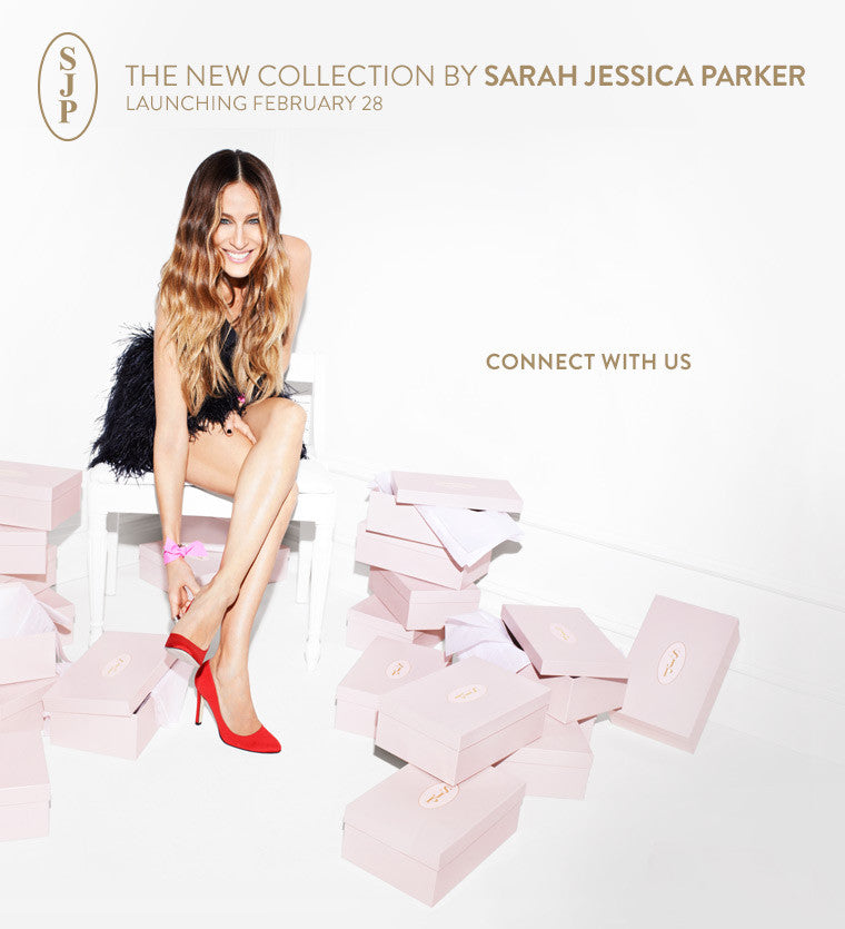 You Will Get Carrie-d Away With Sarah Jessica Parker's New Shoe Line!