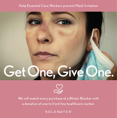 Get One, Give One. Help us help the frontline healthcare workers.
