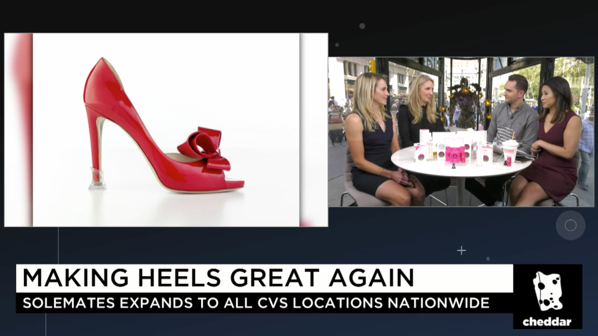 Life after Shark Tank: Cheddar Interviews Solemates on the Success of Their Brand After The Show