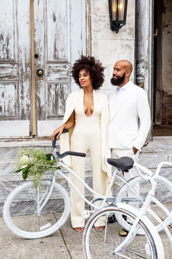 Solange Knowles Rocks The Cape Trend at Her Wedding