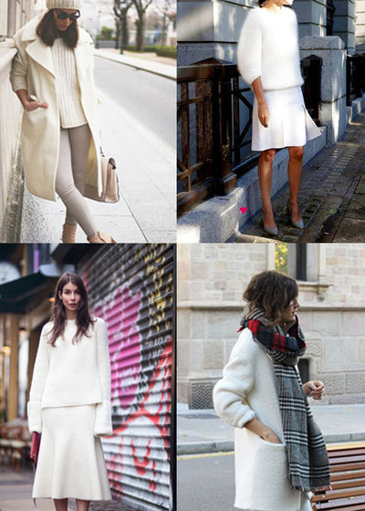 Embrace the Winter White Trend!