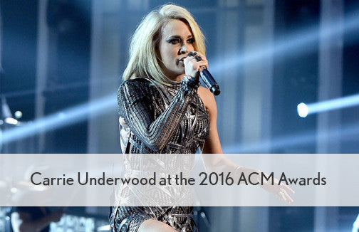 Carrie Underwood in Solemates at the ACM Awards