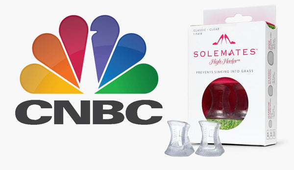 From Startup to Success: CNBC Interviews Solemates High Heeler founders Becca and Monica