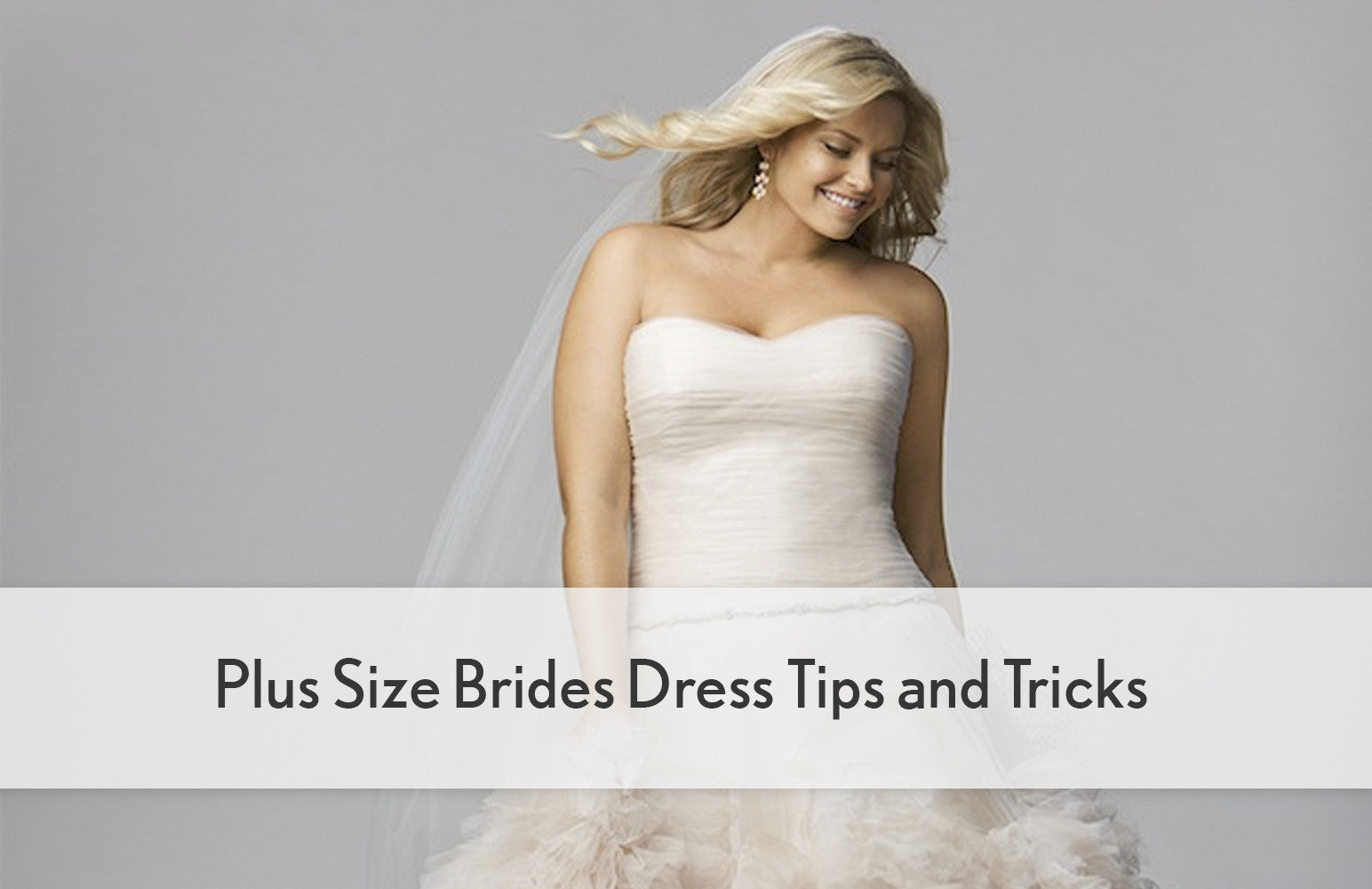 Plus Size Brides Dress Tips and Tricks