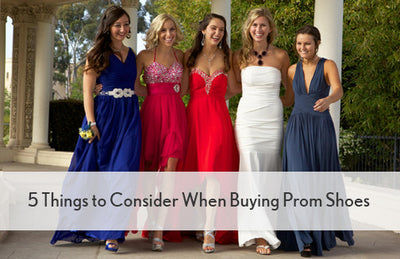 5 Things to Consider When Buying Prom Shoes