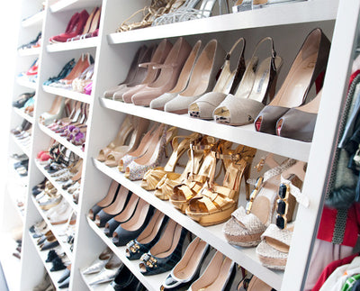How To Spring Clean Your Shoe Closet (So You Can Get More Shoes!)