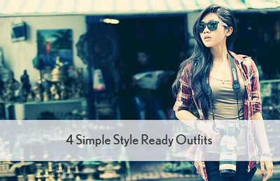 4 Simple Style Ready Outfits