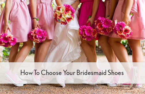 3662b974a08c How To Choose Your Bridesmaid Shoes