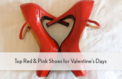 Top Red & Pink Shoes for Valentine's Days