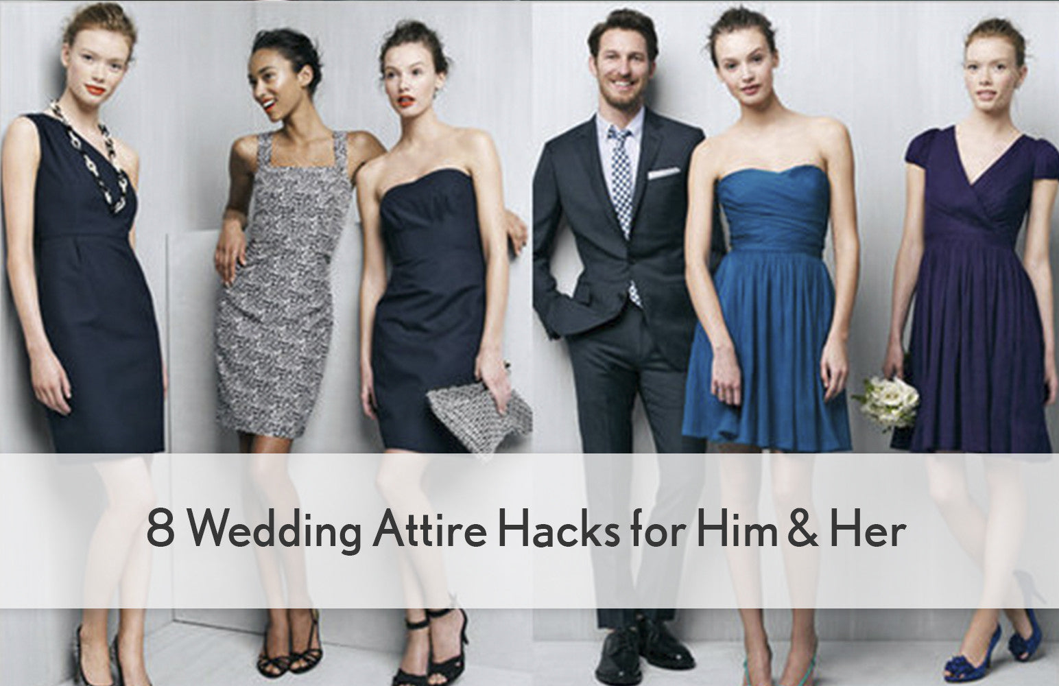 8 Wedding Attire Hacks for Him & Her