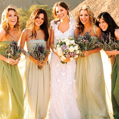 Rachel Bilson bridesmaid