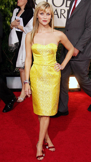 Reese Witherspoon at Golden Globes 2007