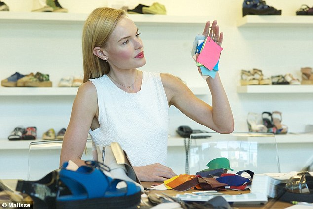 Kate Bosworth launches shoe line