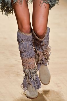 Fringe shoes for the Spring