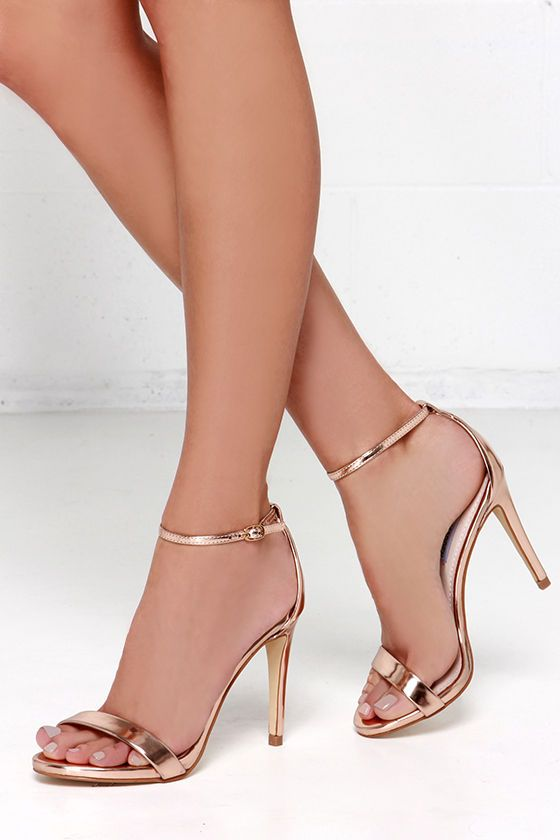 Gold Heels for New Years