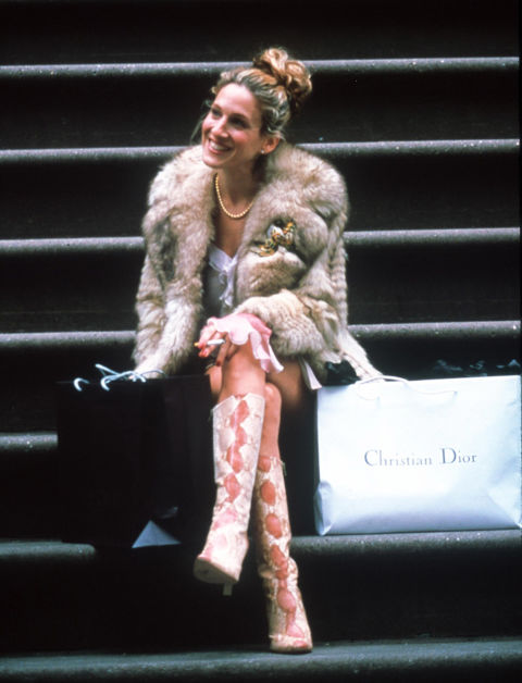 Carrie Bradshaw's boots