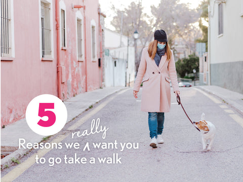 5 Reasons to take a walk. Blister prevention.
