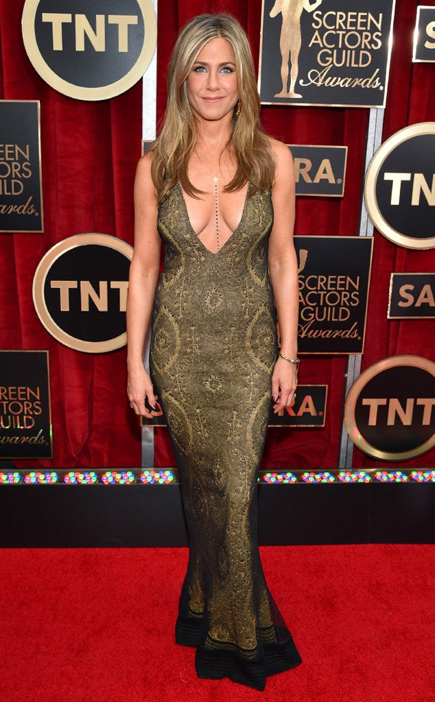 Jennifer Aniston in Galliano