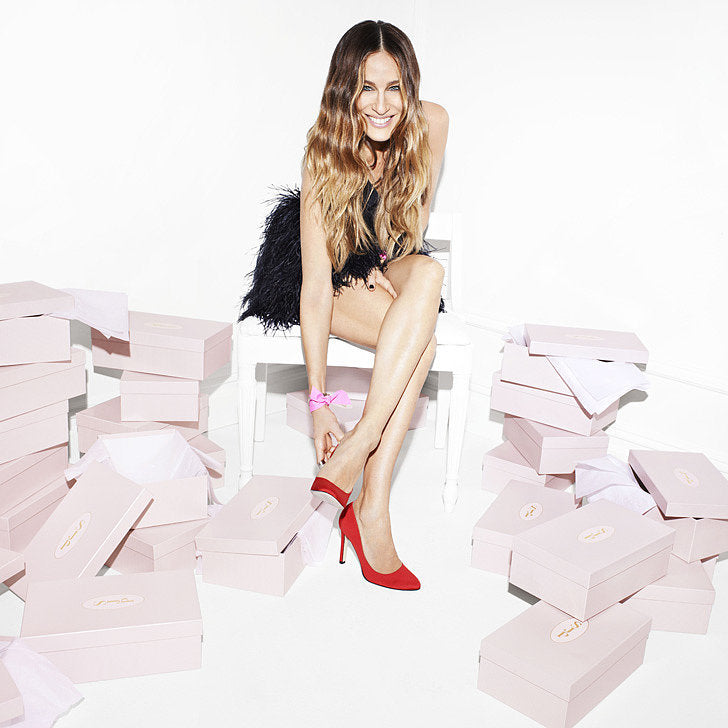 Sarah Jessica Parker with Red Heels