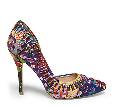 Colorful Christmas Heels by Steve Madden