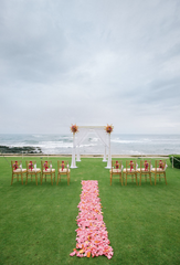 Flower Petal Aisle Runner