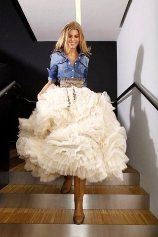The Mother of Bride Dresses with Cowboy Boots Rustic
