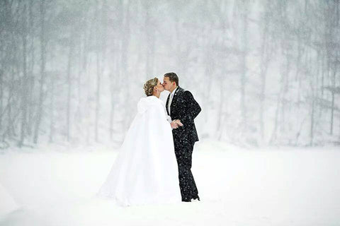 save money with winter wedding