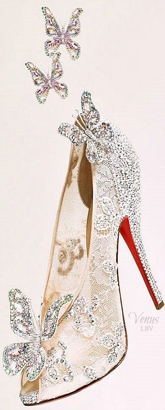 cinderella butterfly christian louboutin