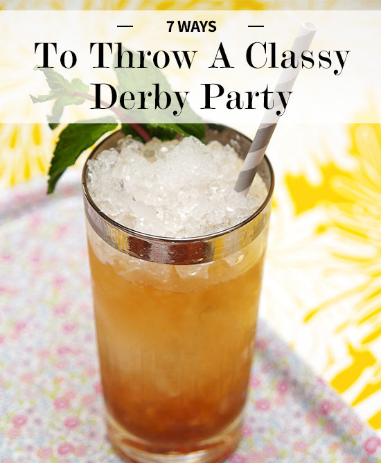 classy derby party tips