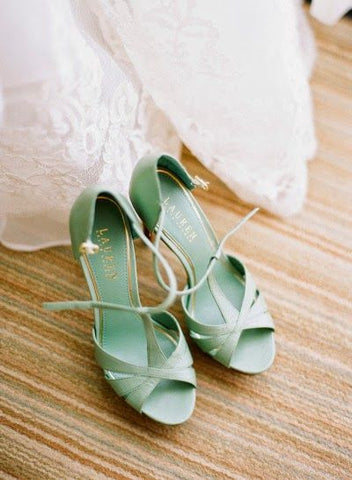 statement wedding shoes