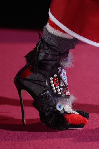 Gucci Heels at New York Fashion Week