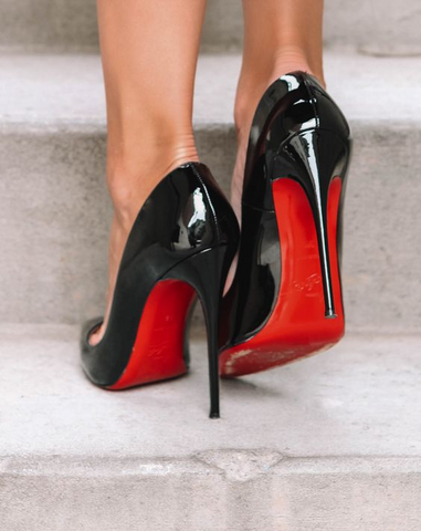 Louboutin with Solemates Soleguard