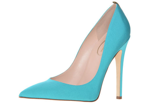 SJP Shoe Collection blue heel
