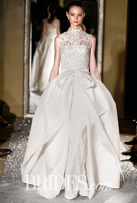 oleg cassini fall wedding dress
