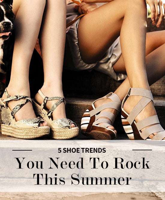 shoe trends for summer