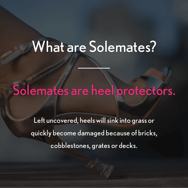 Heel Protectors: (3 sizes - Clear) - Solemates