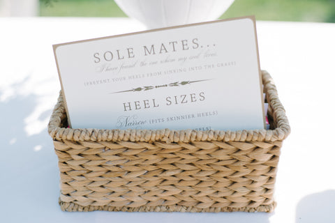 Heel Protectors: The Bridal Bundle - Multiple Sizes - Solemates