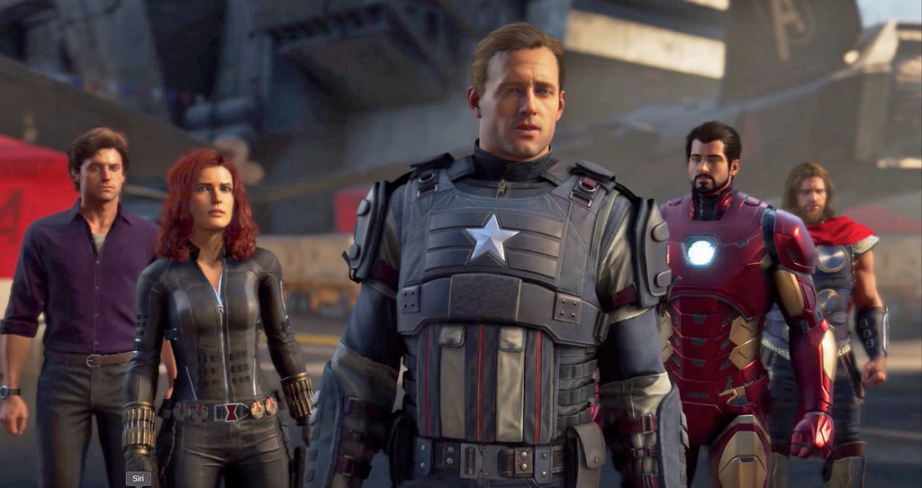 Marvel's Avengers Videogame Announced for May, Captain America Dies?