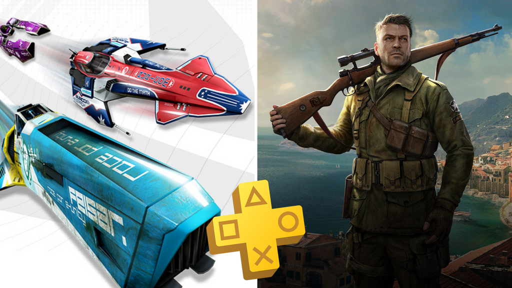 WipEout Omega Collection and Sniper Elite 4 as August's Free PS Plus Games