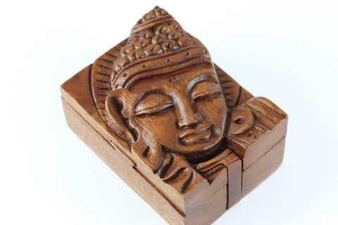Sleeping Buddha Puzzle Box